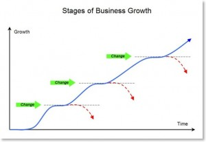 business growth plateau