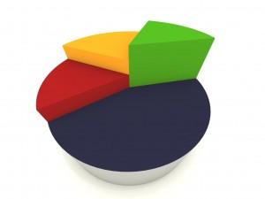 pie chart illustration