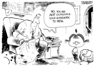 oursource to india